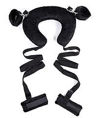 Idea Regalo - Manette Bondage SM BDSM Sesso Sex toys con la maschera degli occhi per Maschi e Femmine