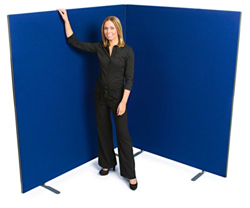 "Buy ""Speedy"" Linkable Office Screen/Room Partition 1800mm High x 1200 mm wide Royal Blue Discount"