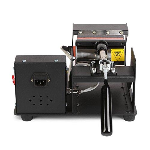 Lartuer Transferpresse Tassenpresse Heat Press Machine für zylindrische und konische Tassen 2 in 1 Digitale Zeitregelung und Temperaturüberwachung (2 in 1 Tassen) - 6