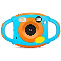 PowerLead Cámara Infantil 5 Megapíxeles, Mini Cámara Digital con Pantalla a Color de 1.77 Pulgadas, Niños.
