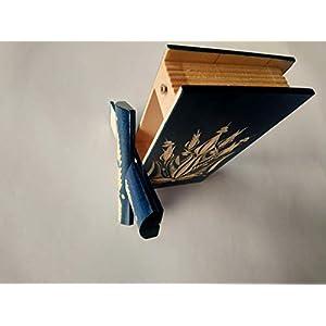 Blau magische spezielle Puzzle Rätsel Buch kasten mit geheimen Aufbewahrungs für Schmuck Ringe Geld diamont versteckten…
