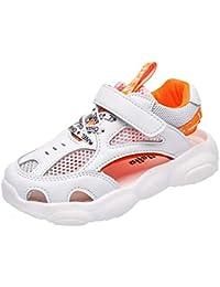 Shoes Malla Transpirable, Sandalias Deportivas, Zapatos Casuales con Velcro para niños y niñas, Zapatillas Deportivas Antideslizantes para niños, aptas para niños de Entre 7 y 16 años.