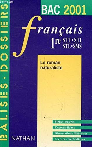 Balises Bac 2001 - Français 1ère STT