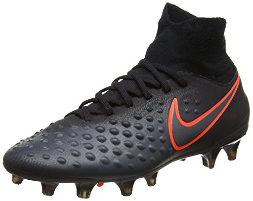 Nike Unisex-Kinder Jr Magista Obra Ii Fg Fußballschuhe, Schwarz (Black/total Crimson), 37.5 EU