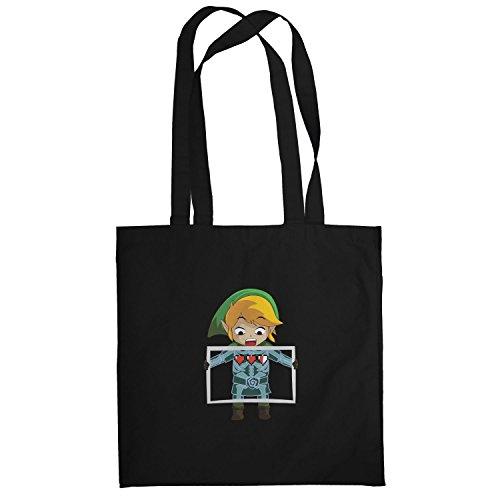 Texlab–X Ray Link–sacchetto di stoffa Nero