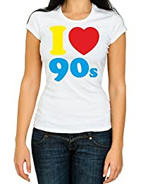I LOVE THE 60s-70s-80s-90s Ladies, woman, girl, Fancy Dress Costume Party
