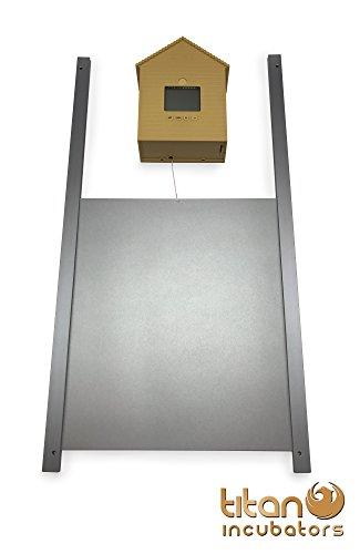 Metalltür + Automatische Huhn Haus Tür öffnen / schließen Elektronischer Pförtner