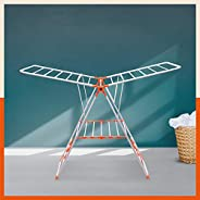 Bathla Mobidry Neo - Foldable Clothes Drying Stand (Orange)