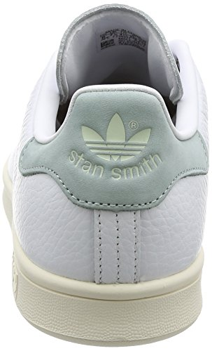 adidas Stan Smith, Sneakers Basses Homme Blanc (Footwear White/footwear White/tactile Green)