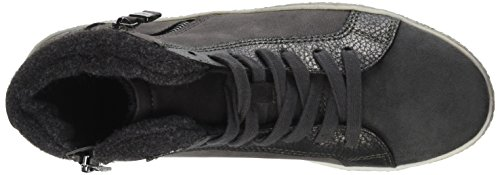 TOM TAILOR Damen 3790505 Hohe Sneaker Grau (Coal)
