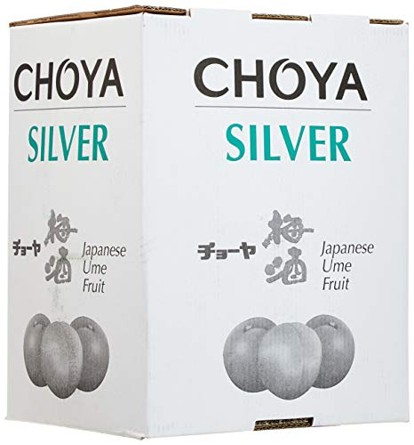Choya Silver japanischer Pflauemenwein (Weinhaltiges Getränk, Ume Frucht, fruchtig, süßlich, 10% vol.) 1er Pack - Bag in Box (1 x 10 l)