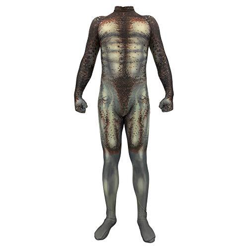 Hope Predator Kostüm, Erwachsene Kinder Onesie Cosplay Outfit Kostümfest Halloween Kleidung Siamese Strumpfhosen Maskerade Requisiten,A-180~190 cm