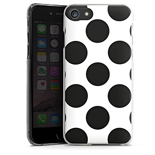Apple iPhone X Silikon Hülle Case Schutzhülle Punkte Dots Rockabilly Hard Case transparent