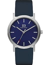 Danish Design Unisex-Armbanduhr DANISH DESIGN IV22Q1108 Analog Quarz Leder IV22Q1108