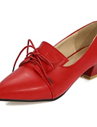 ZQ Zapatos de mujer-Tac¨®n Kitten-Tacones-Tacones-Oficina y Trabajo / Vestido-Semicuero-Negro / Blanco , white-us6 / eu36 / uk4 / cn36 , white-us6 / eu36 / uk4 / cn36