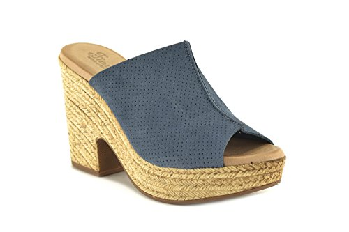 Conbuenpie 1602, Jeans Pour Femme Flip-flop