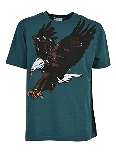 balenciaga-homme-435643tsk273305-vert-coton-t-shirt