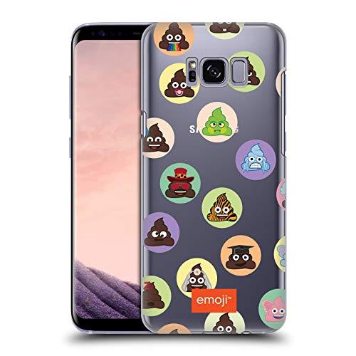 Head Case Designs Offizielle Emoji Kreise Die Gelben Und Poos Ruckseite Hülle für Samsung Galaxy S8