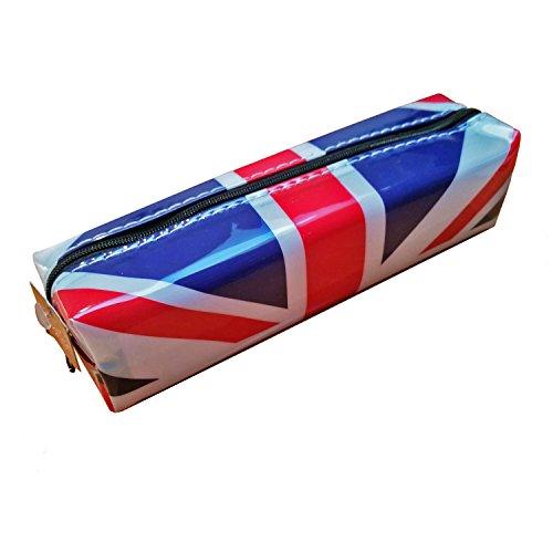 Preisvergleich Produktbild Stylischer, moderner Union-Jack-Design, Sammlerstück, Souvenir, Royal Flagge von England, Schule, Klassenzimmer-Schüler! Reißverschluss-Souvenir/Speicher-Memoria markant, Witziges Union-Jack-Motiv/Britische Flagge, Sammlerstück, tragbar Federmäppchen ein unvergessliches London, Sammlerstück, Souvenir, Federmäppchen, Mäppchen, Trousse Astuccio/Estuche!