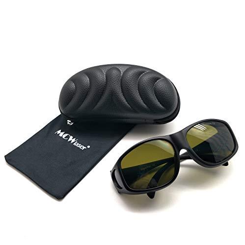 MCWlaser IPL-Laserschutzbrille (190-2000 nm) für sommersprossige Hautverjüngung Aufhellung von Haartätowierungen Pigmententfernung Absorptionsart Brille für Myopie EP-20