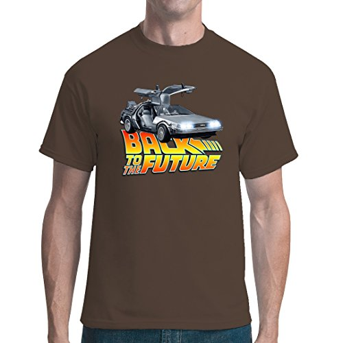 Im-Shirt - BttF - Flux Capacitor cooles unisex Fun Shirt - Bear Brown 5XL
