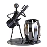 YeahiBaby Porte-Stylo Créatif Métal Art Décoratif Musicien pour Table Chambre Bureau École (Guitare)...