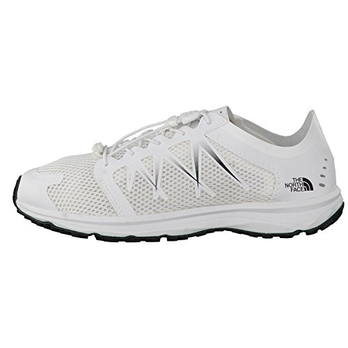 The North Face W Litewave Flow Lace, Scarpe da Trail Running Donna Tnfwhit/tnfwhit