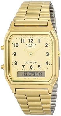 CASIO 19374 AQ-230-9BM - Reloj Caballero cuarzo
