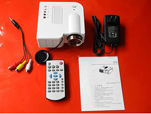 HONGLIHome Projector Digital Projector Mini Portable Projector