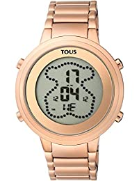 Tous 900350045 Digital Digibear Pink IP Steel Watch