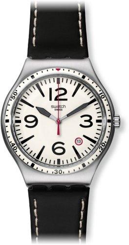 Swatch Orologio Analogico Classico Quarzo Unisex con Cinturino in Acciaio Inox YWS403C