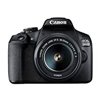 Canon SLR Camera,24.1 MP,9x Optical Zoom and 3 Inch Screen - Canon EOS 2000D