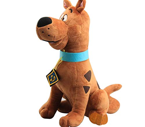 sundada Plush Toy Soft Cute Great Dane Scooby Doo Dog Cute Dolls Stuffed Animal Plush Toy New 35Cm