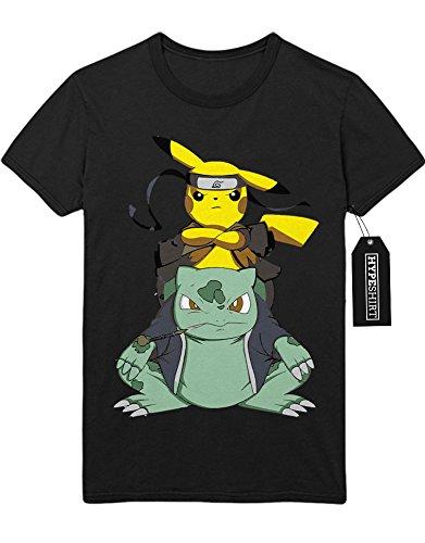 T-Shirt Pokemon Go Pikachu C210020 Schwarz M
