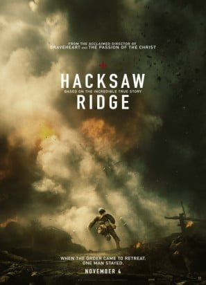 Price comparison product image HACKSAW RIDGE – Mel Gibson – US Imported Movie Wall Poster Print - 30CM X 43CM Brand New