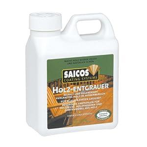 Saicos 8130 412 Holzentgrauer Konzentrat 1.0 l [Werkzeug] von SAICOS bei TapetenShop