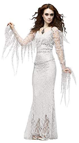 CWZJ Halloween Cosplay Kostüm Frau Horror Braut Geister Kostüm Cos Kostüm Phantasie Kleid Party-Kostüm Erwachsene Cosplay Halloween Karneval Themen - Karneval Themen Kostüm