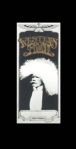 Western Front-Lobby San Francisco 1967Mini Poster-38x 20.3cm -