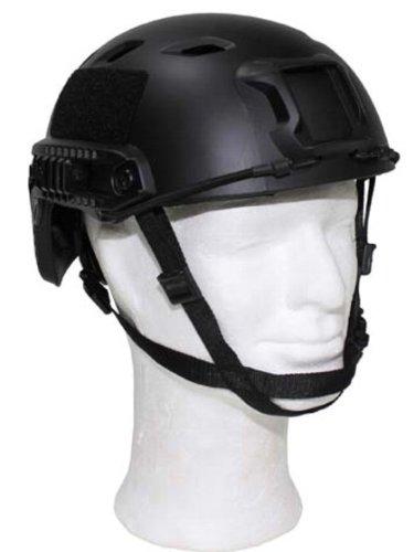 US Helm FAST Fallschirmjäger schwarz des Herstellers Militär a