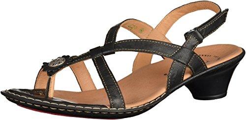 4 84501 4 Pensate Sandale Nere 84501 Donne Think Noir Femmes Sandalo A7xUqHwH
