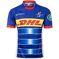 CRBsports Stormers, Jersey De Rugby, Nueva Tela Bordada, Swag Sportswear (Azul, 3XL)