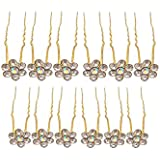 Rapidsflow Women's Juda Pins for Hair Decoration, Golden