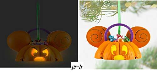 Disney Parks Wende Mickey Tricks Ohr Hat Halloween Kürbis Ornament New
