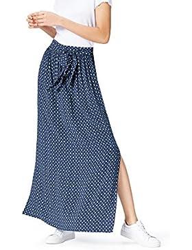 FIND Falda Maxi con Estampado para Mujer