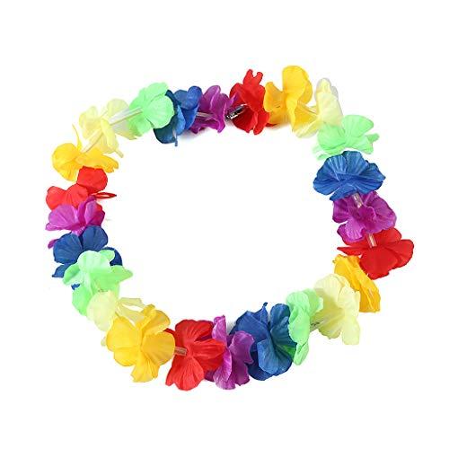 awaii Blume Garland Halskette Hula Kranz Geburtstag Pool Party Supply ()