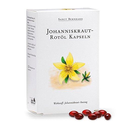 Johanniskraut-Rotöl-Kapseln mit Johanniskrautöl 120 Kapseln