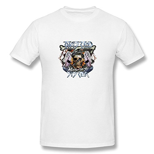 Uomo's Twisted Sister Band Logo T-Shirt