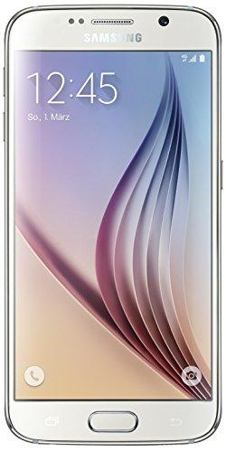 Samsung Galaxy S6 Smartphone (5,1 Zoll (12,9 cm) Touch-Display, 32 GB Speicher, Android 5.0) weiß (Nur für Europäische Sim-Karte)