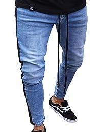 Polsino it Jeans Con Cargo Uomo Amazon Pantaloni awOXw8