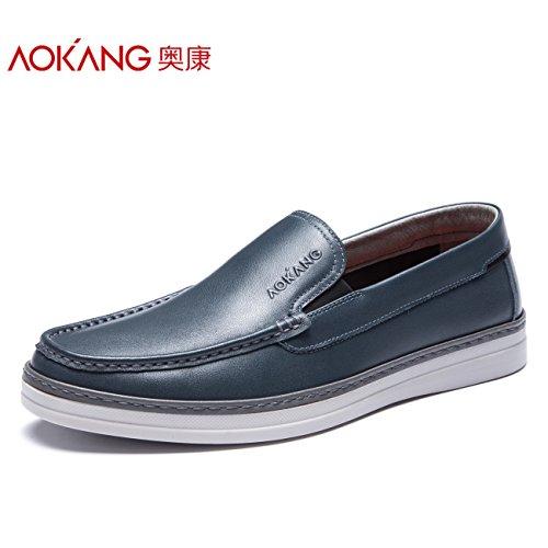 Jugend Light Blue Kinder Schuhe (Aemember Casual Schuhe Männer und wilden Frühling Set Foot niedrige Jugend Stream Men's Alltägliche Schuhe, 39, Blau)
